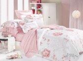 Комплект постельного белья Ранфорс ТМ Viluta - 8626 розовый