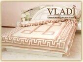 Одеяло шерстяное жаккардовое ТМ Vladi - Люкс