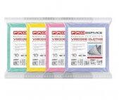 Вискозные салфетки 10шт/уп. 4 цвета